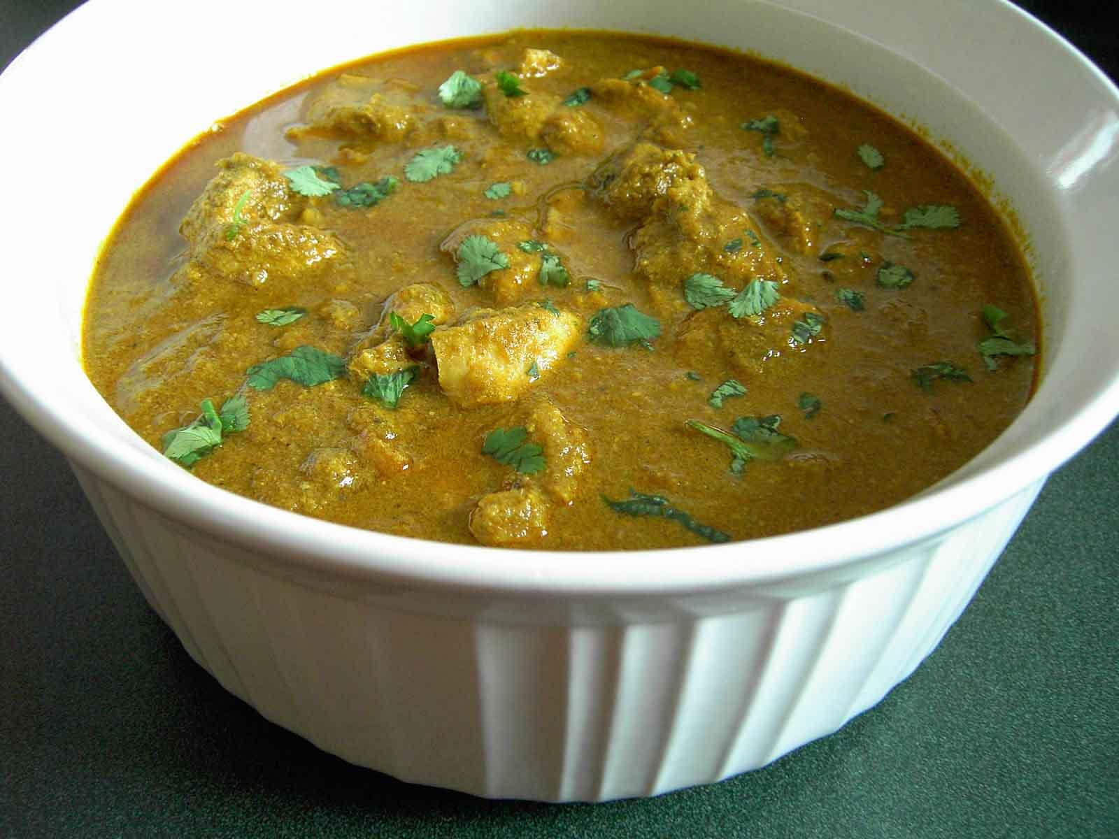Goan Chicken Curry Burps And Slurps