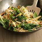 Thai satay stir-fry