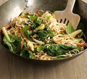 Thai satay stir-fry