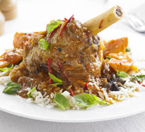 Vietnamese lamb shanks with sweet potatoes