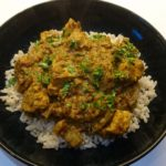 Peter's special fragrant curry of joy
